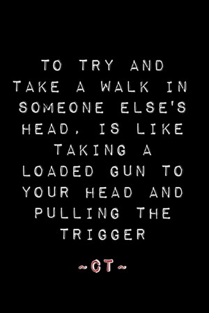 Try to walk it. I dare you