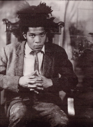 "Jean Michel Basquiat by Fred ""Fab 5 Freddy"" Braithwaite and Ingrid ..."