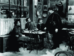 Still of Paul Muni and Vladimir Sokoloff in The Life of Emile Zola ...