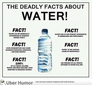 The DEADLY facts about water!