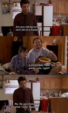 Ben Wyatt on cute. #ParksandRec More
