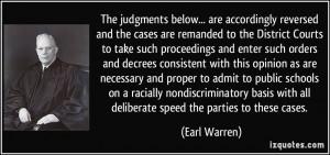More Earl Warren Quotes