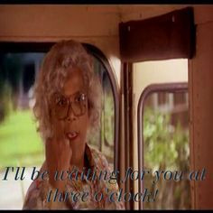 Love this part of Madea's Family Reunion!!!