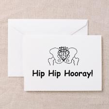 Hip Hip Hooray Greeting Cards for