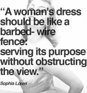 Sophia Loren ..