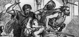 The massacre of the Macduff clan (4.2)