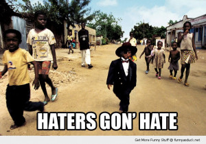 haters gon hate black kid africa village suit hat funny pics pictures ...