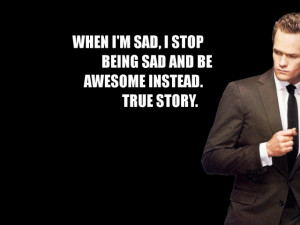 quotes barney stinson how i met your mother black background 1366x768 ...
