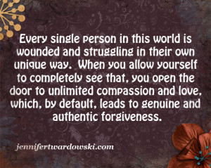 ... own unique way. See that and you see #forgiveness. @jenilyn8705