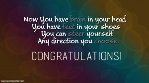 Essential Quotes: Congratulations Quotes on Graduation