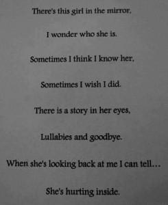 depression quote 3 mirror