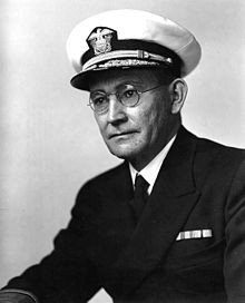 Rear Admiral Willis A. Lee, Jr., circa 1942.