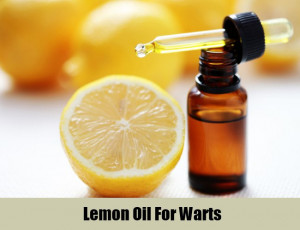 Lemon Essential Oil Warts