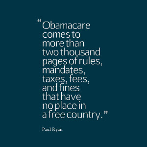 Quotes Picture: obamacare comes to more than two thousand pages of ...