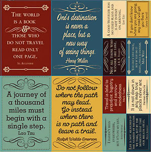 ... -12x12-Cardstock-Sticker-Sheet-TRAVELOGUE-QUOTES-scrapbooking-TRAVEL