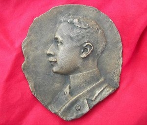 Artist Signed Bronze of Crown Prince Wilhelm of Prussian Empire