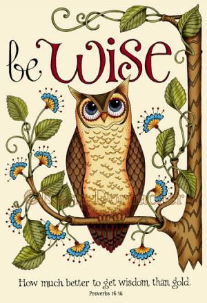Owls and bible verses. Love