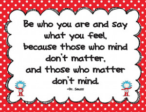 Dr Seuss Picture Quotes Funny And Inspiring: First Grade ...