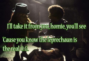leprechaun leprechaun in space leprechaun in the hood stpatricks ...