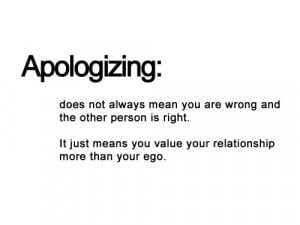 ... Does Not Always Mean You Are Wrong And The Other Person Is Right