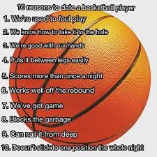 10 reasons to date a basketball player! lol