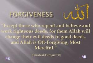 seeking forgiveness islam quote islamic quotes of quran hadiths ...