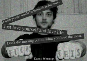 Danny Worsnop from Asking Alexandria.