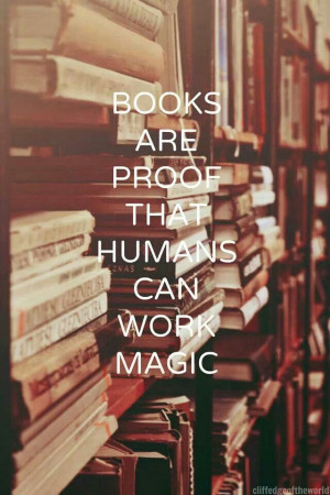 Magic! A book lover lives more lives than one