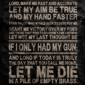Warrior's Prayer