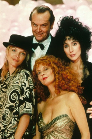 The Witches of Eastwick...just watched this again for the first time ...