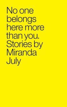 Miranda July More