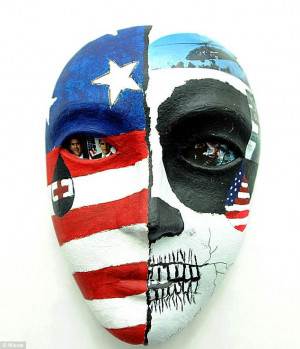 The agonizing face of war: Soldiers with PTSD make disturbing masks to ...