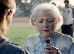 ... has tapped older stars such as Betty White to star in humorous ads