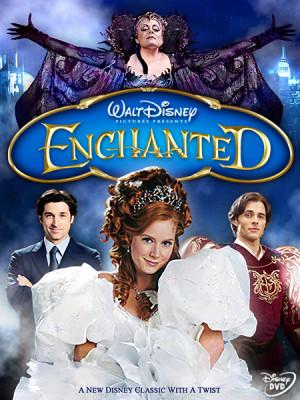 enchanted dvd | Enchanted - DVD cover by criminally-VULGAR
