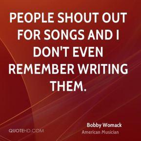 Shout Quotes