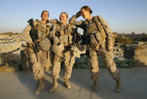 All-female U.S. Marine team in Afghanistan