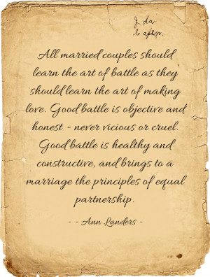 All Married Couples Should...