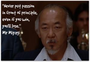 selection of wisdom from The Karate Kid 39 s Mr Miyagi