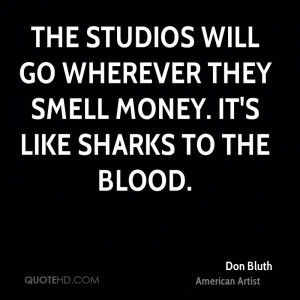 Don Bluth Quotes