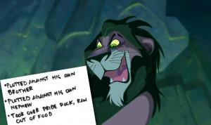 Scar The Lion King Quotes Disney villains scar the lion