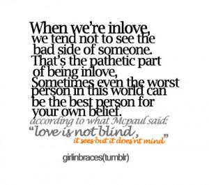 bad love quote