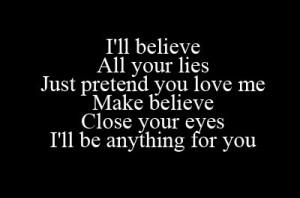 broken heart, evanescence, make believe