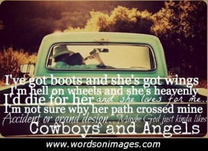Cowboy Love Quotes and Sayings