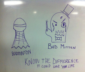 Badminton Funny Quotes
