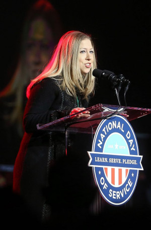 Chelsea Clinton - National Day of Service - © Mario Tama/Getty Images