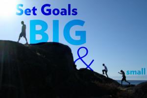 Set Goals Big & Small ~ Goal Quote