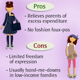 School Uniforms Pros and Cons
