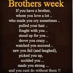 BROTHERS QUOTESimage gallery