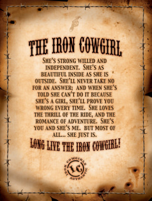 cute cowgirl quotes