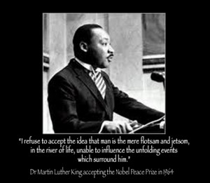 Let us honor Dr. King in word and in deed.